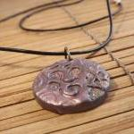 Polymer Clay Pendant In A ..